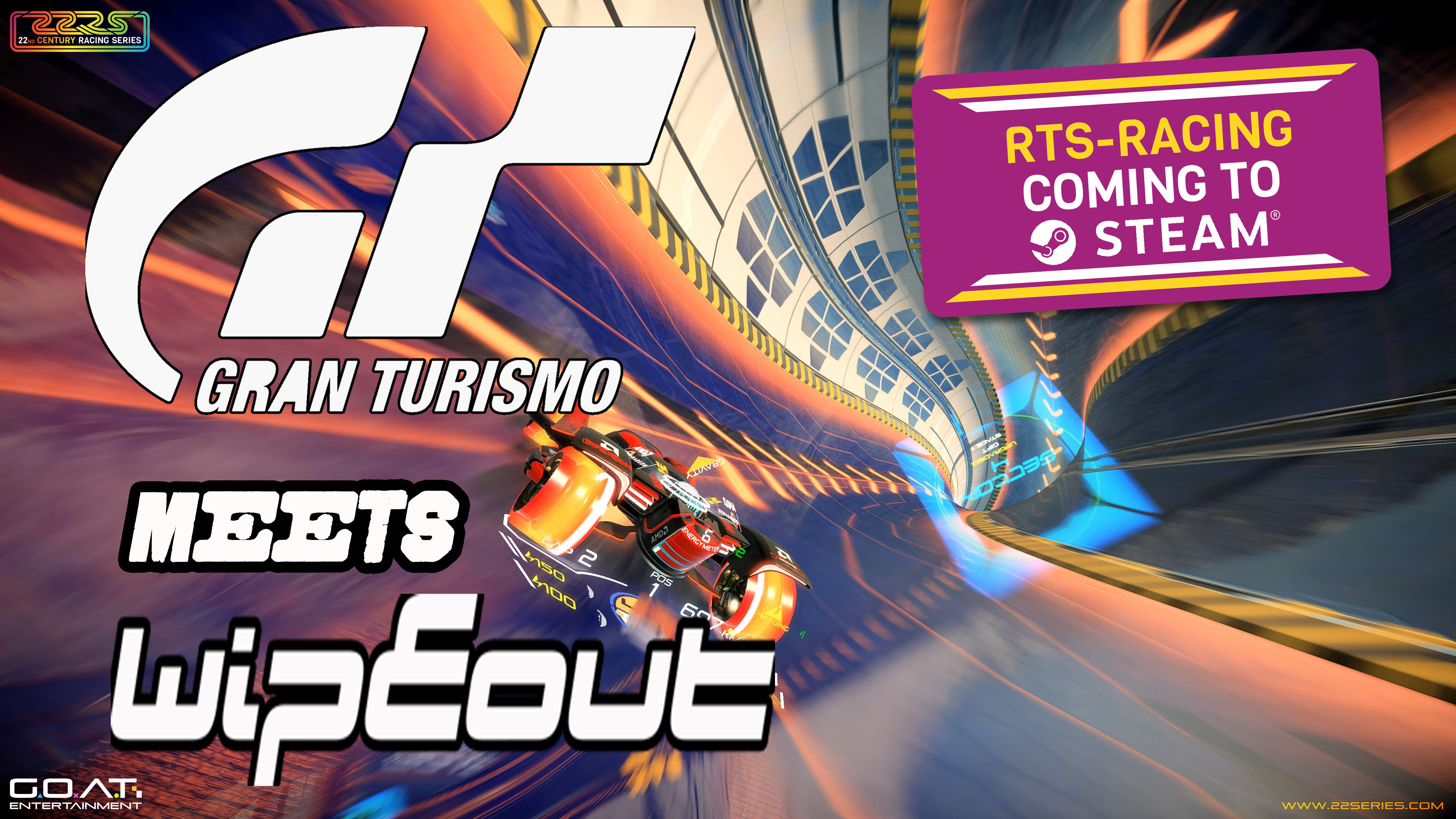 Gran Turismo meets Wipeout